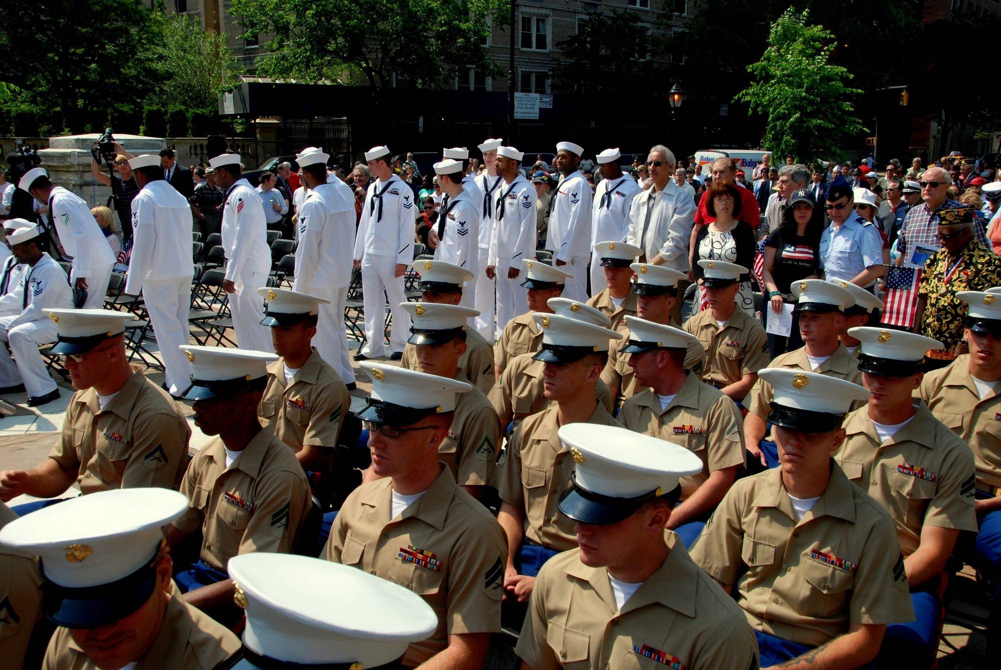 Marines and Sailors